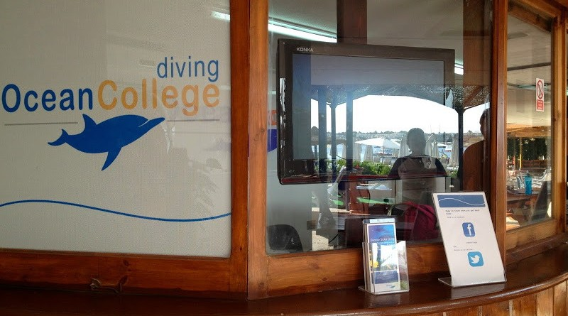 ocean college dive centre